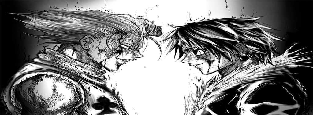 Chrollo vs Hisoka